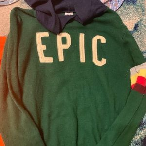 Boys EPIC gap sweater hoodie. Size xl